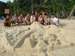 sut-sut sandcastle