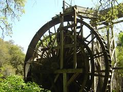 Bale Mill - Mill Wheel