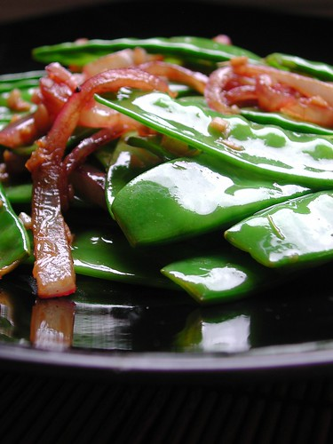 Ginger Snow Peas