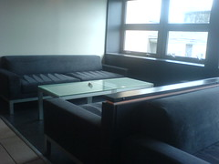 Sofas in Oloroso bar area, Edinburgh