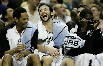 Spurs laugh