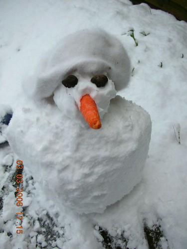Im a little snowman..