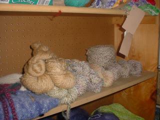 Wool and Silk Yarns