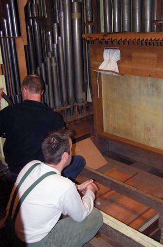 Werkzaamheden König-orgel gestart