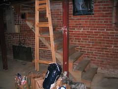 Basement Stair - Circa 1938