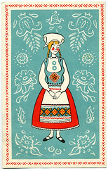 Postcard: Advertising  Swedish Restaurant in Phoenix