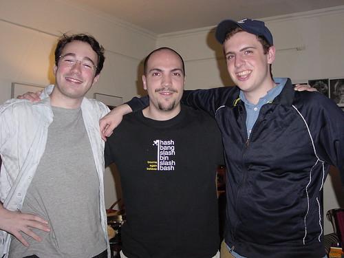 Daniel, Brian and I