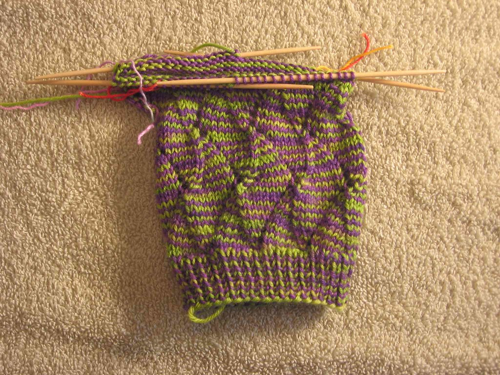 Jungle Stripe sock
