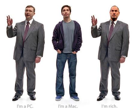 Los tres pringaos, incluído Jobs