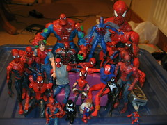 Too much Spider-Man!