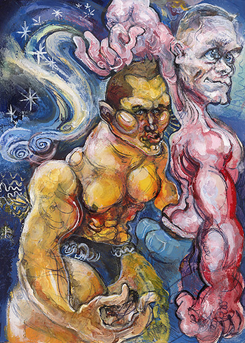 cena randy ridiculous painting