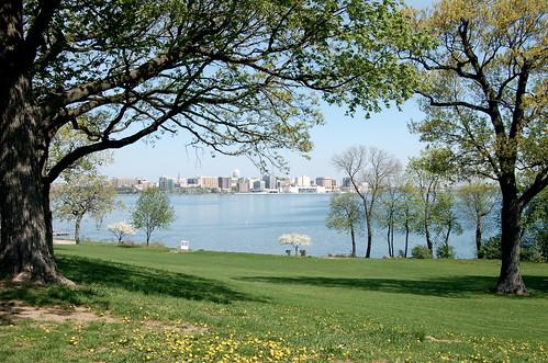 Madison skyline