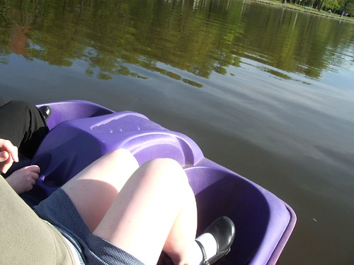 paddleboating