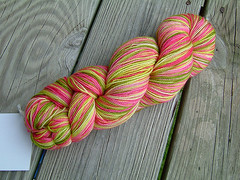 Yarn from All Things Heather