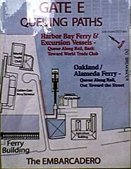 Gate E Queuing Paths
