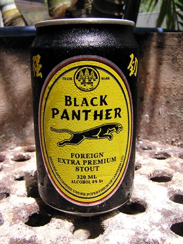 Cambodian Beer - Black Panther Stout by Cambrew