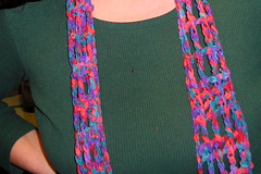 Ticker Tape/ Ribbon Scarf