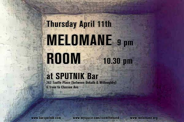Room live with Melomane at Sputnik