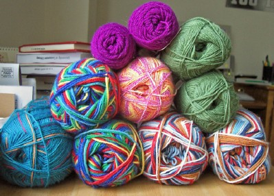 Sock Yarn Stash