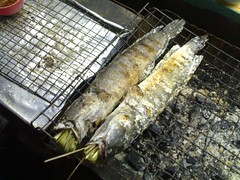 I've gotta try these barbequed fish next time