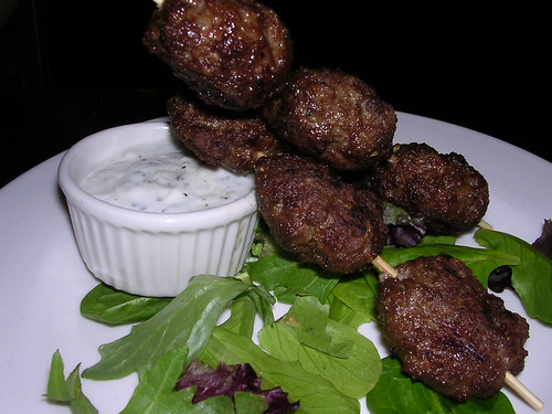 North African Spiced Lamb kefta