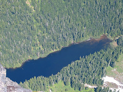 Barclay Lake From Baring Mtn