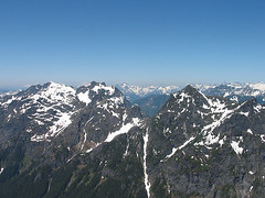 Gunn Peak And Merchant Peak From Baring Mtn
