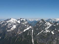 Gunn Peak And Merchant Peak From Baring Mtn