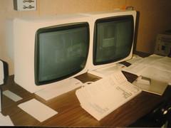 unix workstations, 1991 photo by joanofarctan