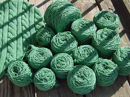 Yarn from the Green Monster