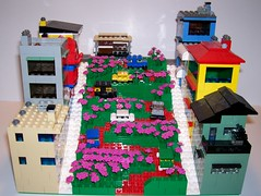 Lombard St. in LEGO