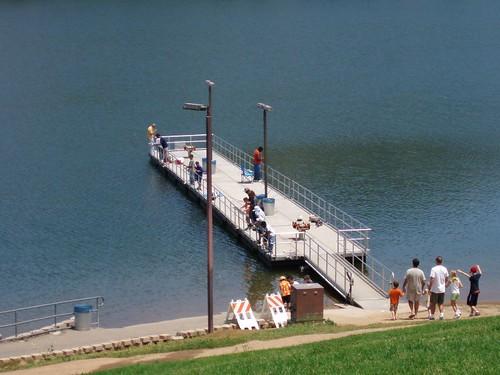 lake poway laituri