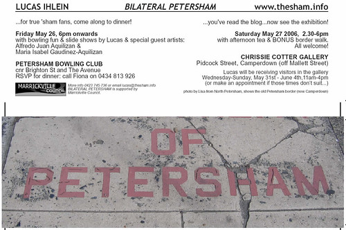 chrissie cotter exhibition flyer