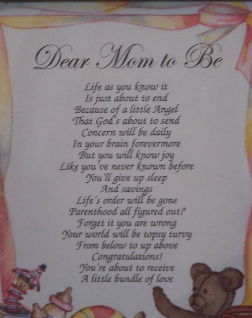 unborn baby poems for baby shower - photo #4