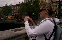 A tourist (or undercover operative from Dublin City Corporation)