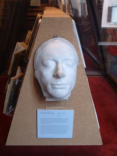 Mascara funebre de Keats