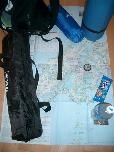 Preparandose para el hiking