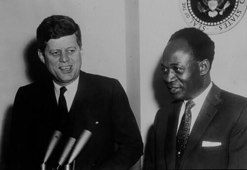 Nkrumah and JFK