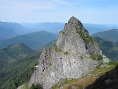 Northwest Peak From White Chuck Mtn