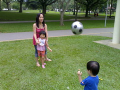 Sunday morning at the park - a new ball