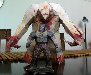 Quake Papercraft