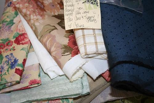 pile o fabric from Catrina