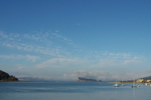 Fog on Barrenjoey Head & the North Shore