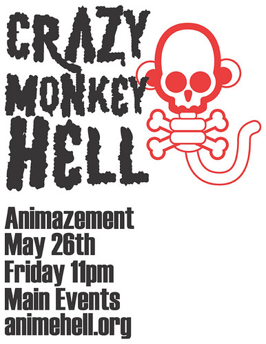 Crazy Monkey HELL at Animazement