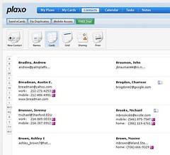 JAJAH in Plaxo Online