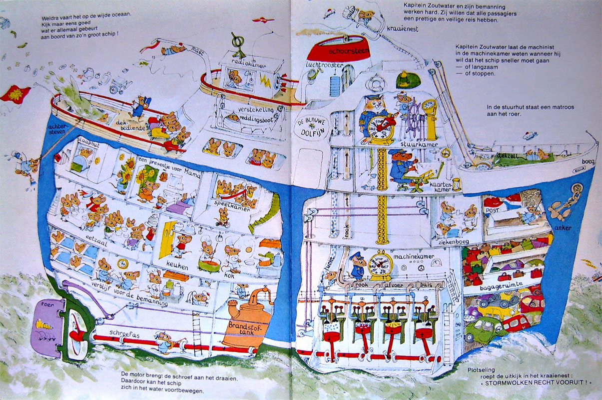 images about Richard Scarry on Pinterest Boats