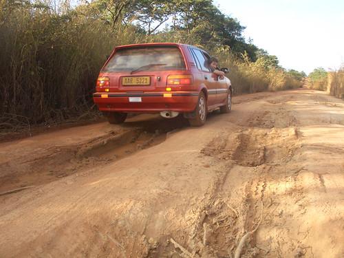 Street in Congo