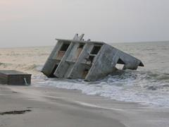 October 22, 2005 fallen house
