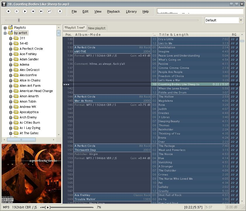 My guide to making foobar pretty (usable)  | Headphone