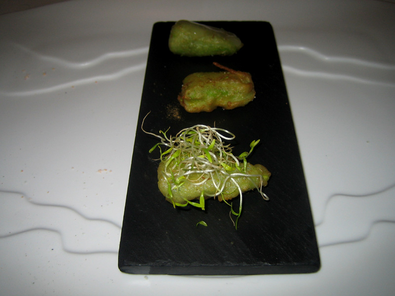 El Bulli - Avocado Tempura 3 Ways